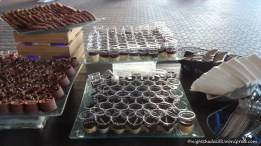Boston Creme Pie Shots