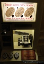 Pressed Penny Machine - Inside Tony's Town Square