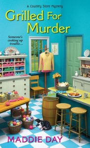 Book Cover - Grilled for Murder