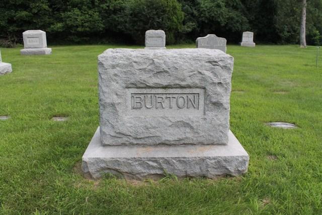 Clarence Burton Grave