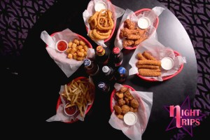 Night Trips Bar Food & Drinks