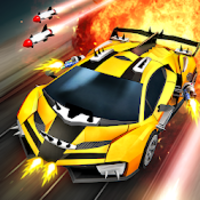 Chaos Road Racing and battle apk mod