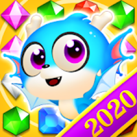 Jewel Blast Dragon - Match 3 Puzzle apk mod
