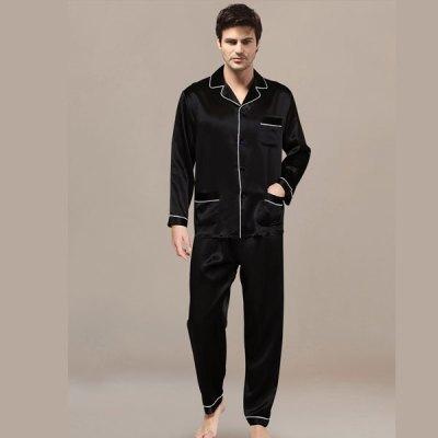Mens Night Suit Black