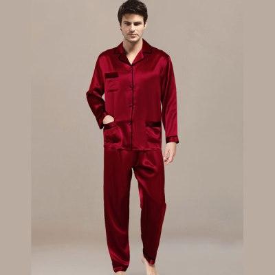 Mens Night Suit Maroon