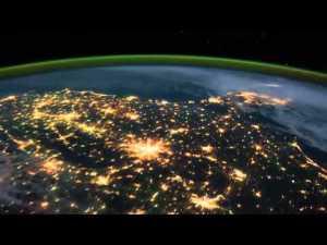 Видео с  Международной Космической Станции