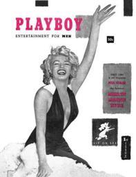 Обложка с самого перового номера плэйбоя Декабрь 1953