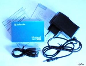 USB-хаб Defender Septima Slim. Обзор