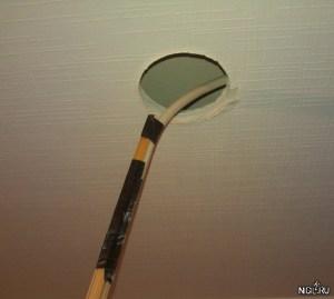 Как быстро протянуть кабель над гипсокартонным потолком