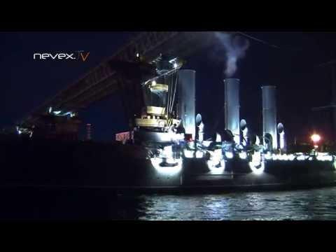 Возвращение крейсера Аврора. Видео