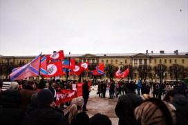 """Митинг """"Донбасс - это Россия!""""; СПб, 18.02.2017"""