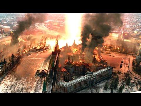Опять Москву расхерачивают, теперь в фильме Геошторм. Тизер. Видео