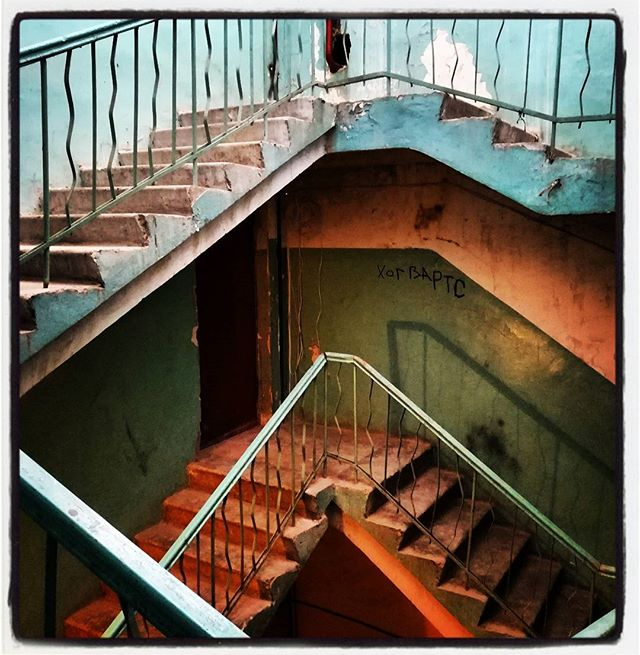 Лестница-чудесница #питер #парадная