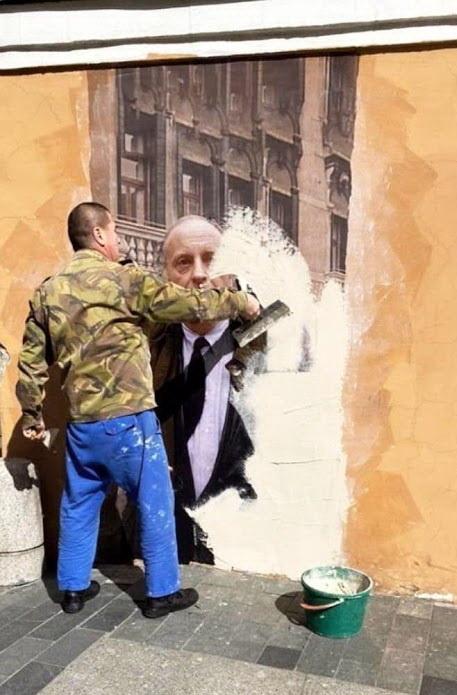 «Стена Бродского»: Кто и почему закрасили граффити с поэтом? И что там теперь…