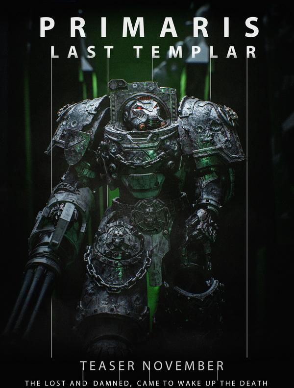 Новый фильм-проект по вселенной Warhammer 40к. Видео внутри