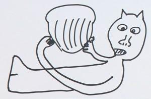 『貝を割るラッコ』 by 蛍原