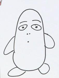 マエケン画伯『ペンギン』