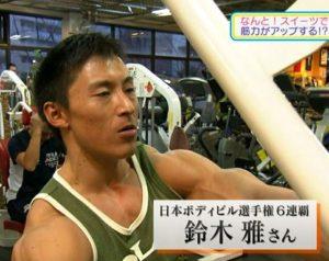 日本ボディビル選手権6連覇 鈴木 雅さん