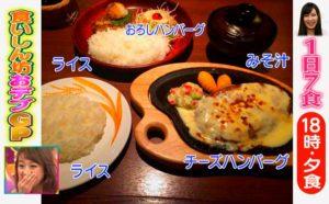 18時・夕食