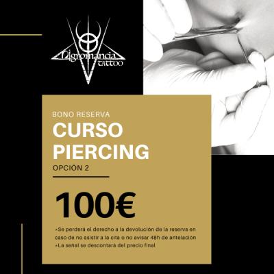 curso piercing (opción 2) - nigromancia - tatuajes en valencia