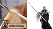 Hollywood Schmied baut Sephiroth Schwert aus Final Fantasy VII nach