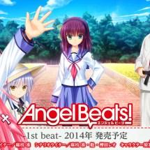 Angel Beats!: Zwei Videospiele für 2014