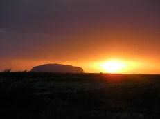 Sunset at Uluru - Ayers Rock
