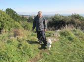 Walking in the hills