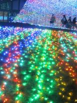 Illumination in Yomiuri Land, Tokyo