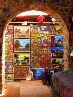Beautiful arts and crafts in Antigua