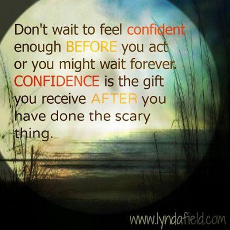 festival confidence