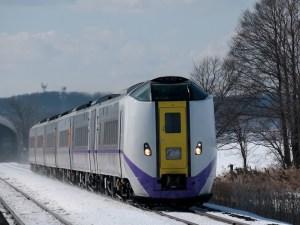 スーパーとかち号のキハ261系新塗装車両