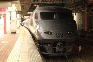 特急かいおう・博多駅にて
