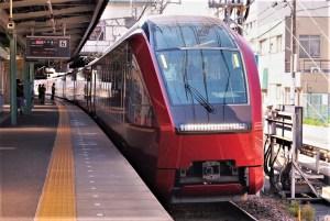 近鉄新型名阪特急ひのとり