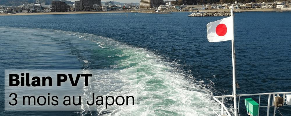 Bilan PVT - 3 mois au Japon