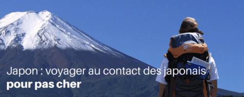Voyager au contact des japonais pour pas cher