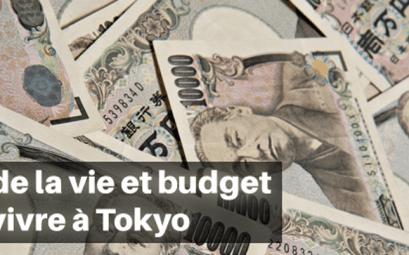 Coût de la vie et budget pour vivre à Tokyo