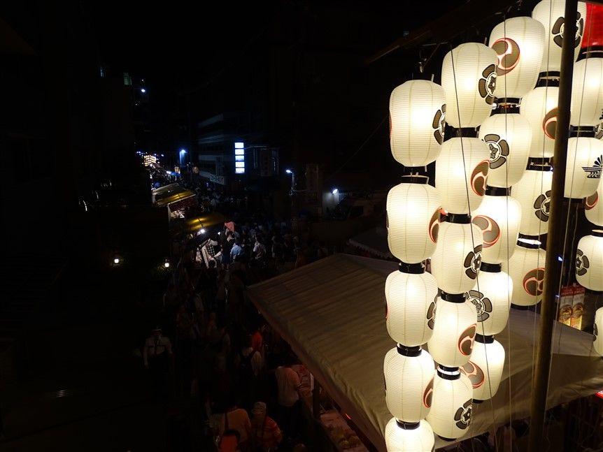 Un Mikoshi à Kyoto