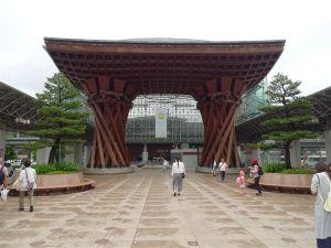 Le Torii de la gare de Kanazawa