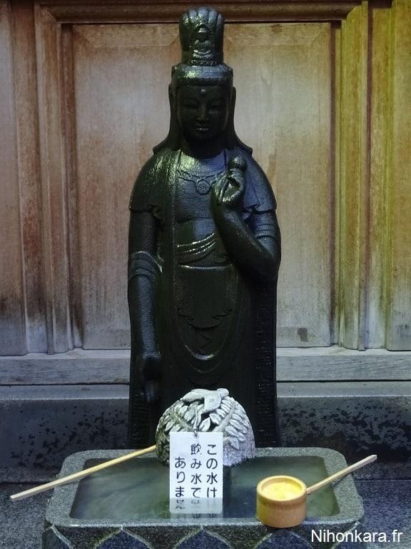 Une statue de Bouddha à Sugamo