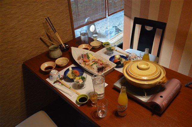 Un dîner Kaiseki