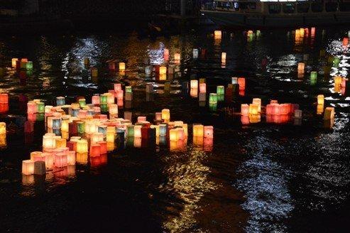 Les lanternes d'Hiroshima