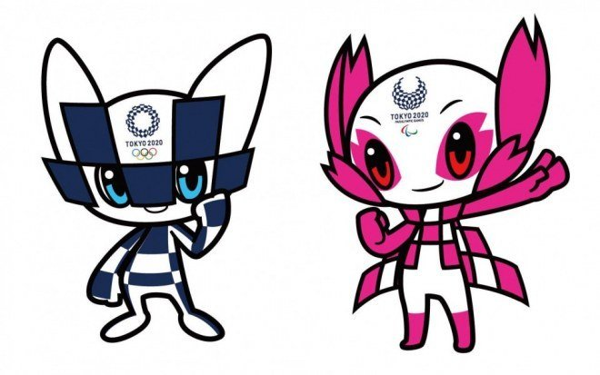 Les mascottes officielles des JO