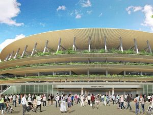 Le stade olympique de Tokyo