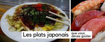 Les meilleurs plats japonais