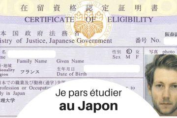 Je pars étudier au Japon