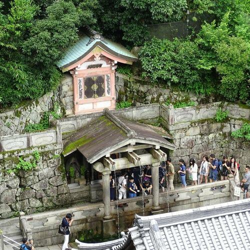 Le temple de l'eau à Kyoto