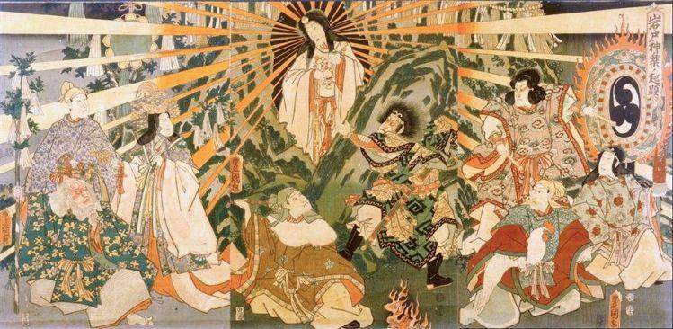 La déesse Amaterasu
