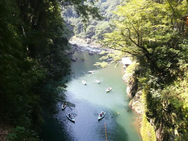 Takachiho en bateau