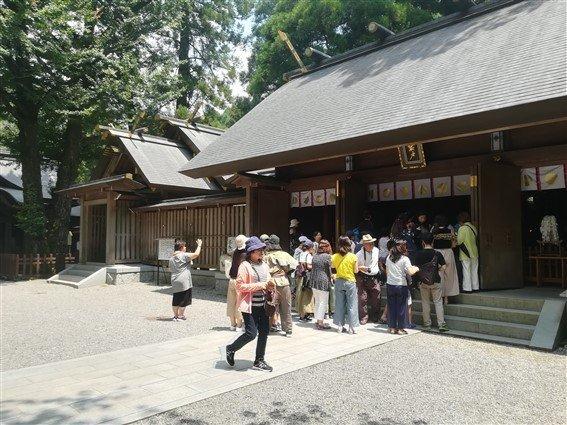 Le temple de Takachiho
